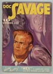 Doc Savage Nov 1939 Bill Barnes; Cap Fury;