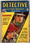 Detective Fiction Weekly Jan 13 1940 Watson Cvr; Hugh B. Cave; Stookie Allen