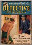 Detective Fiction Weekly Feb 6 1937 Judson Philips; Boxing Cover