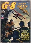 G-8 Battle Aces Apr 1943 Leo Morey Illustrations; Robert J. Hogan