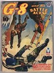 G-8 Battle Aces Dec 1942 John Fleming Gould Illustrations File Copy