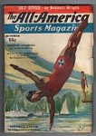 All-America Sports Magazine Oct 1936 Diving Cvr; Edgar D. Kramer; Irving Wallace