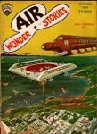 Air Wonder Stories Sep 1929 Paul Cvr; Gernsback; Harl Vincent; MacClure; Bob Olsen