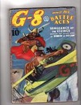 G-8 Battle Aces Aug 1937 Blakeslee; Greaseball Joe