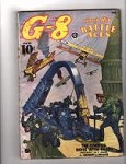 G-8 Battle Aces Oct 1938