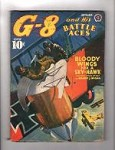 G-8 Battle Aces Sep 1940 Blakeslee; Gould;