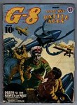 G-8 Battle Aces Jan 1941 Zombie Cvr; Gould int. art.;