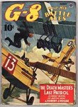G-8 Battle Aces Aug 1942 Gould; Blakeslee; File Copy