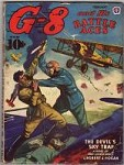 G-8 Battle Aces Feb 1944 Kiemle illustrations;