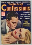 Thrilling Confessions Dec 1937 Earle Bergey Cover Art