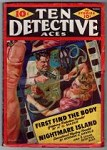 Ten Detective Aces Mar 1942 Saunders Cvr; Fredric Brown; William Campbell Gault