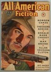 All American Fiction Feb 1938 Belarski Cvr Art; Max Brand