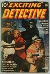 Exciting Detective 1940 Fall FIRST issue; Johnston McCulley; Cvr: Blonde/Villain