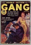 Double Action Gang Apr 1938 GG Cover Art; Dalton Gang