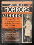 Medical Horrors Jan 1932 FIRST issue VERY RARE Nurse Photo Cover