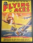 Flying Aces Feb 1939 August Schomburg Cvr Art