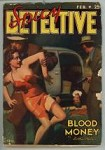 Spicy Detective Feb 1939 SCARCE; HJ Ward GGA Cover