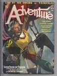 Adventure Feb 1942 Winter Malvin Singer Cvr Art