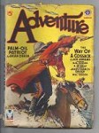 Adventure Mar 1943 Spring Lougheed Cvr; Abrams; Fowler; Daly