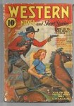 Western Novels and Short Stories Nov 1941 Red Circle; Dawson; Tyler