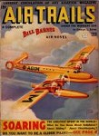 Air Trails Jun 1937 Frank Tinsley Cvr; Bill Barnes Air Novel by George L. Eaton