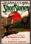 Short Stories Oct 10 1937 Oren R. Waggener Cvr; H. Bedford-Jones; F. V. W. Mason