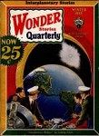 Wonder Stories Quarterly Winter 1933 Frank R. Paul Cvr; Ludwig Anton; John Harris