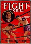 Fight Stories Fall 1945 Boxing Cvr; R. Bernstein and Alan Goodrich; Bill Heuman