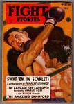 Fight Stories Winter 1948 Burgess Leonard; Chas. M. Rose; Robert Richards