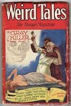 Weird Tales Nov 1929 C. C. Senf assault Cvr; CA Smith; Quinn; RE Howard; Derleth