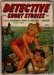 Detective Short Stories Oct 1947 GGA bondage Cvr; Lee E. Wells; Eric Howard