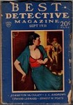 Best Detective Magazine Sep 1931 Johnston McCulley Story