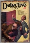Detective Story Sep 29 1928; Johnston McCulley; Edgar Wallace