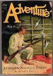 Adventure May 1 1928 Arthur O. Friel; W.C. Tuttle; Charles Durant