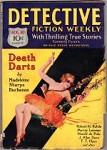 Detective Fiction Weekly Aug 30 1930; M.S. Buchanan; Murray Leinster; R.H. Rohde