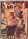 Speed Detective Jan 1943 First Issue! Allen Anderson Cvr, R. L. Bellem, E. H-Price