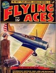 Flying Aces May 1938; August Schomberg cvr; Donald E. Keyhoe; Joe Archibald;