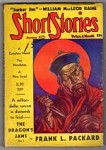 Short Stories Jan 10 1937; Frank L. Packard; William M. Raine; Frank R. Pierce;