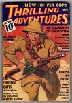 Thrilling Adventures May 1936; William Merriam Rouse; Arthur J. Burks; Carl Jacobi