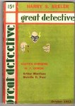 Great Detective Oct 1933; Agatha Christie; Dorothy L. Sayers; Fax Cover