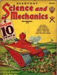 Science and Mechanics Oct 1934; Frank Paul; Monstrous Machines of the Next War