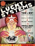 Lucky System 1934 Fall; Cvr art by Albert Yates