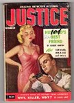 Justice Mar 1955 Volume 1 Issue 1; Robert Martin; David Karp; Tom Roan;