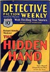 Detective Fiction Weekly May 16 1931; Richard H. Watkins; Madeleine S. Buchanan