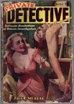 Private Detective Jun 1938; H.J. Ward; Robert A. Garron; Dale Boyd; Justin Case;