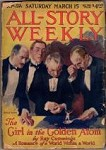 All Story Weekly Mar 15 1919; Ray Cummings; A. Merritt; Modest Stain