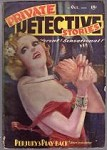 Private Detective Oct 1937 Parkhurst Cvr, Robert Bellum, Justin Case