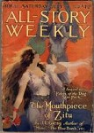 All Story Weekly Jul 5 1919;Key Issue; J.U. Giesy Jason Croft Serial