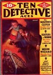 Ten Detective Aces Aug 1933; Frederick C. Davis; J. George Jones Cvr
