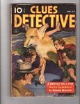 Clues Detective Jun 1937 Ivy Frost Cover Story